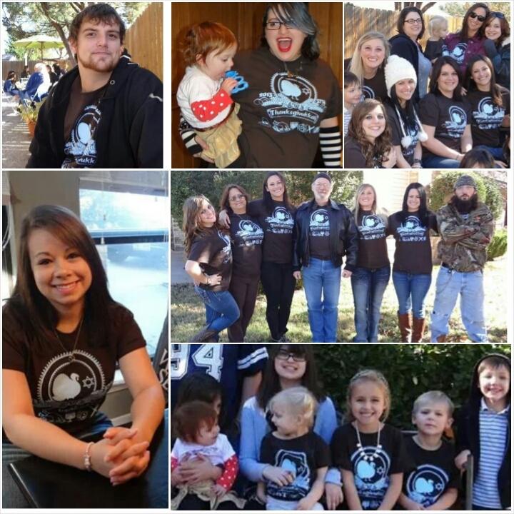 One Big Happy Family! T-Shirt Photo