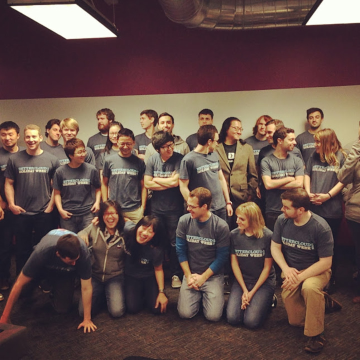 Better Cloud Holiday Week 2013 T-Shirt Photo