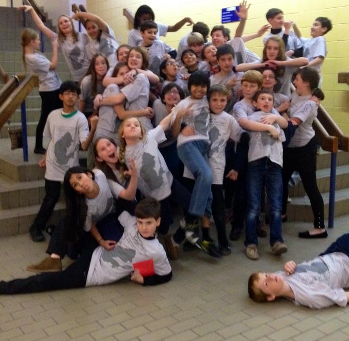 Usm Middle School Fall Play Superstars!!! T-Shirt Photo