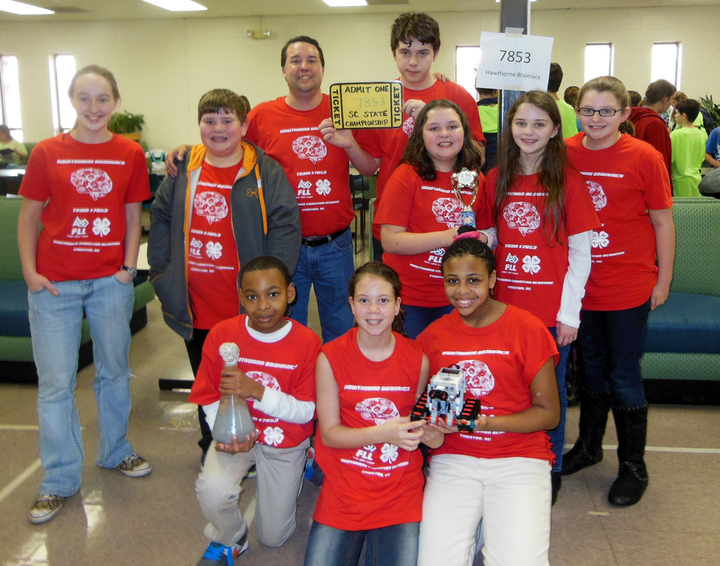 First Lego League Champions! T-Shirt Photo