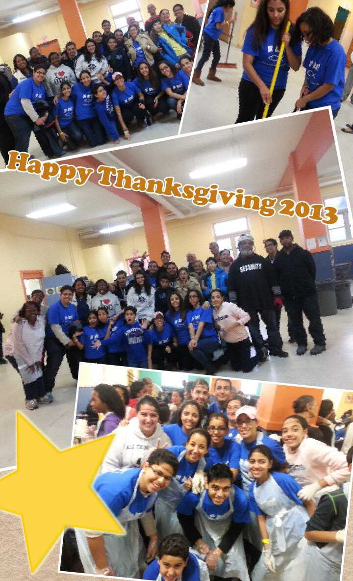 Thanksgiving Volunteering 2013 T-Shirt Photo