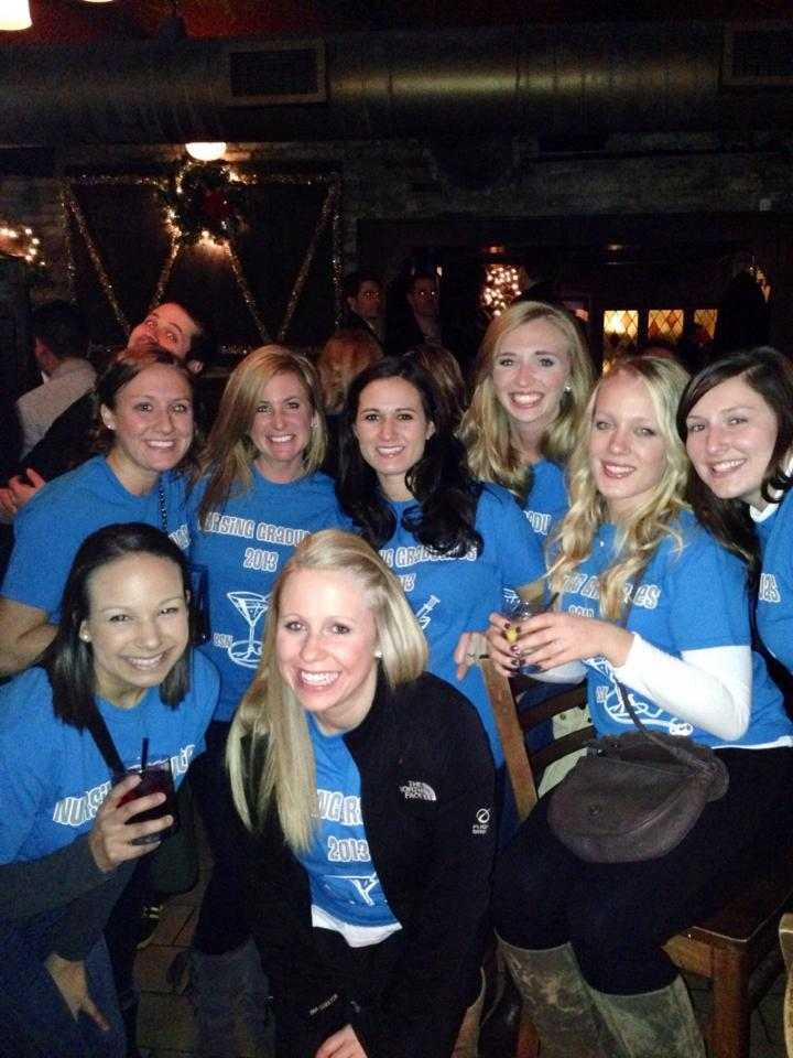 Graduating Nursing Pub Crawl T-Shirt Photo
