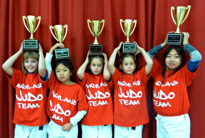Five National Judo Champs Sport Their Custom Ink! T-Shirt Photo