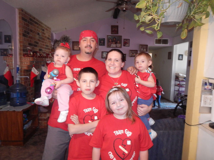 Gianna's First Heartiversary T-Shirt Photo