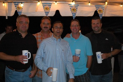 Becktoberfest Mugs Put To Good Use!!! T-Shirt Photo