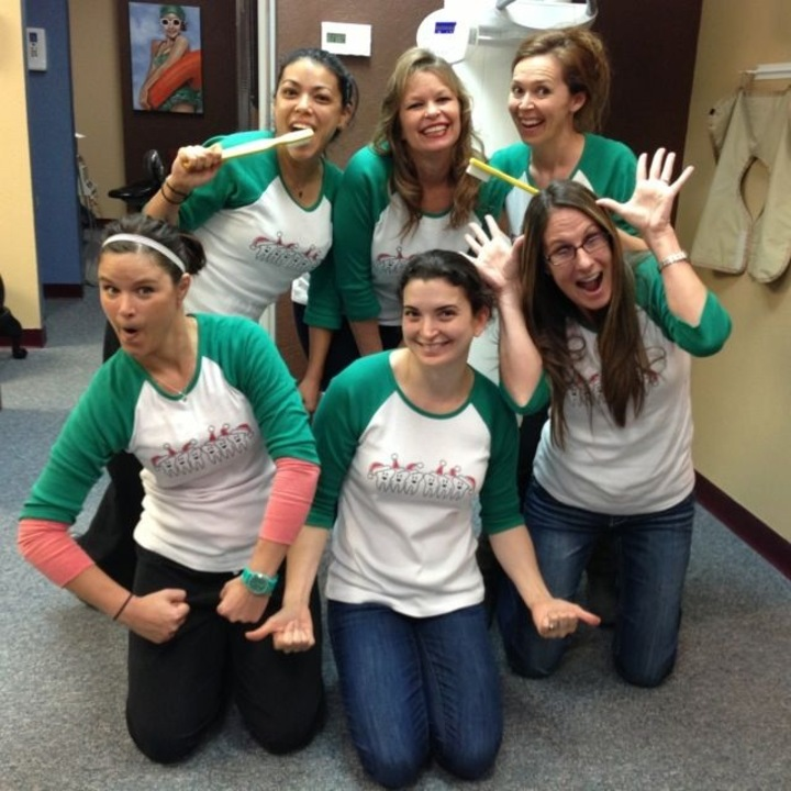 Spreading Holiday Cheer One Smile At A Time T-Shirt Photo