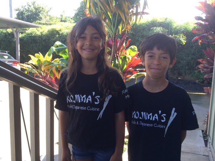 Kojima's 4th Generation Of Chefs In Training T-Shirt Photo