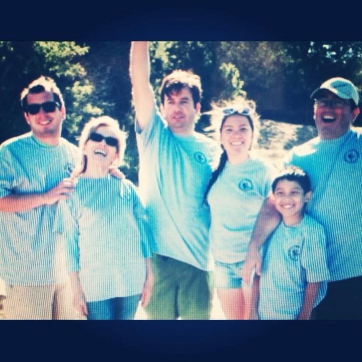 Happy Family Shot T-Shirt Photo