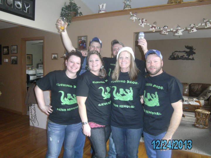 Gator Removal Family T-Shirt Photo