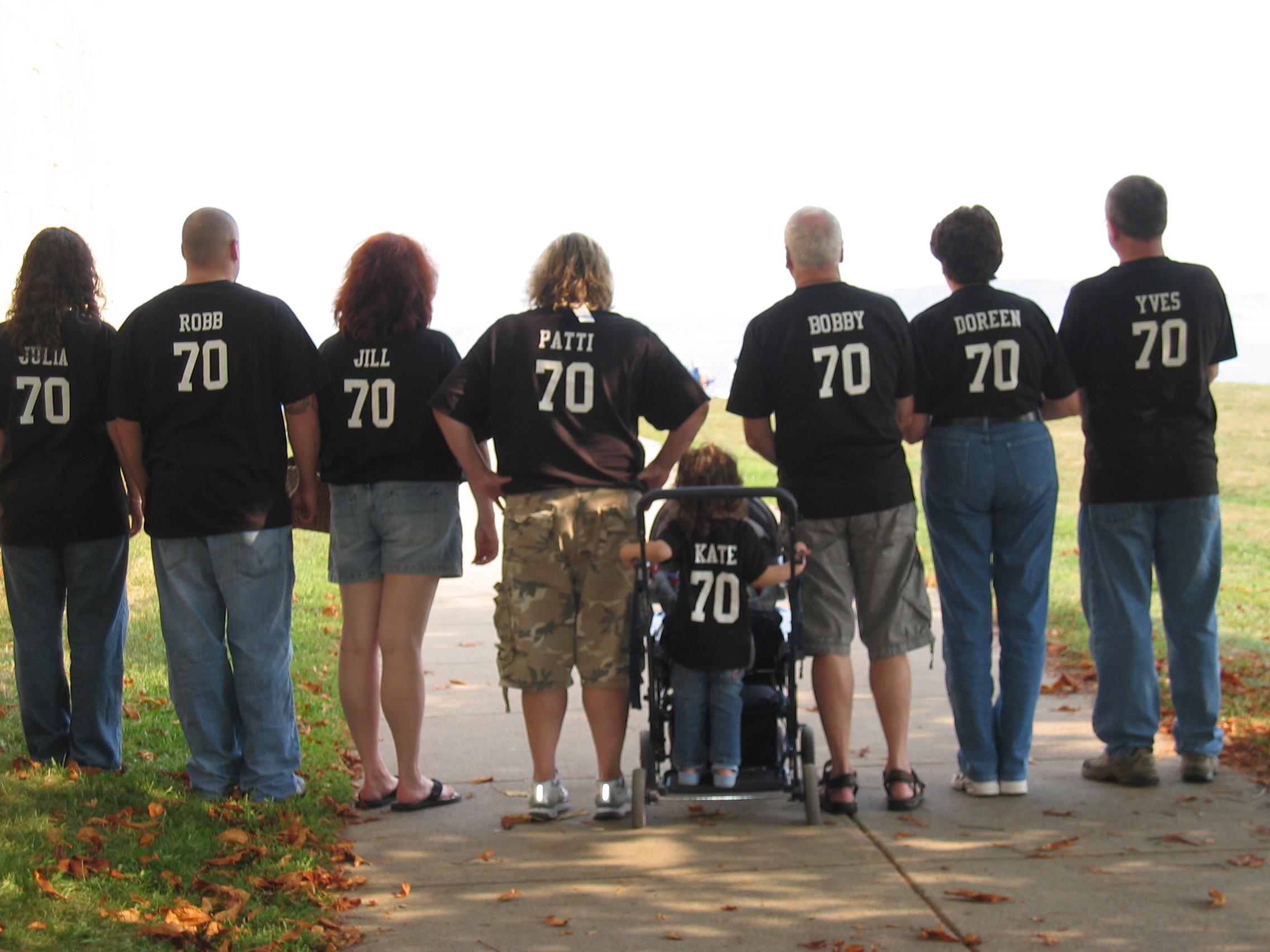 Design your own t-shirt birthday party - Bobby S 70th Birthday Bash T Shirt Photo