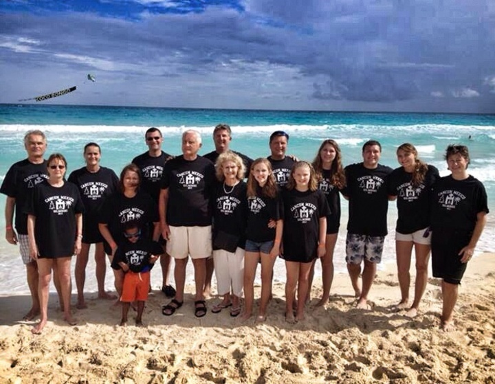 Cancun Family Fun T-Shirt Photo