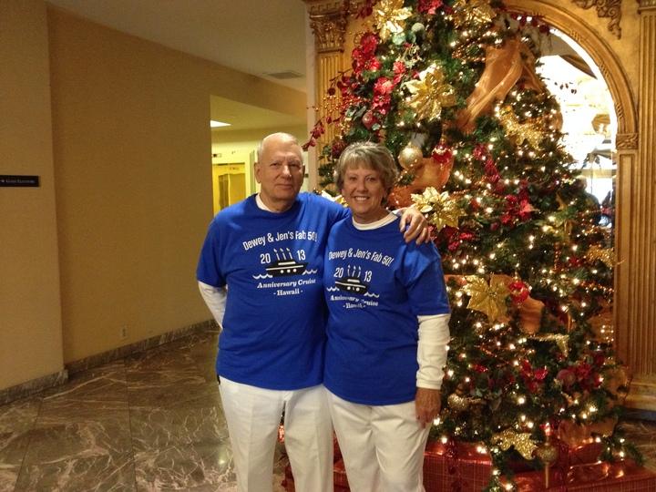 50 Year Cruise Celebration T-Shirt Photo