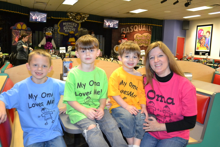 Oma & Her Boys T-Shirt Photo
