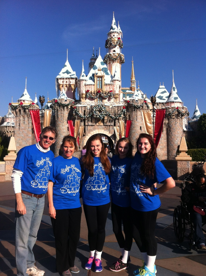 The Liegler League At Disneyland 2014 T-Shirt Photo