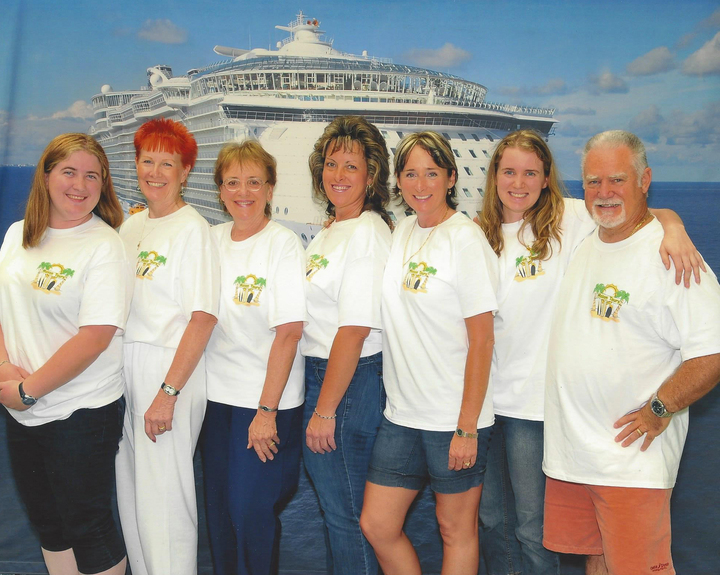 Family Cruise On The Oasis Of The Seas T-Shirt Photo