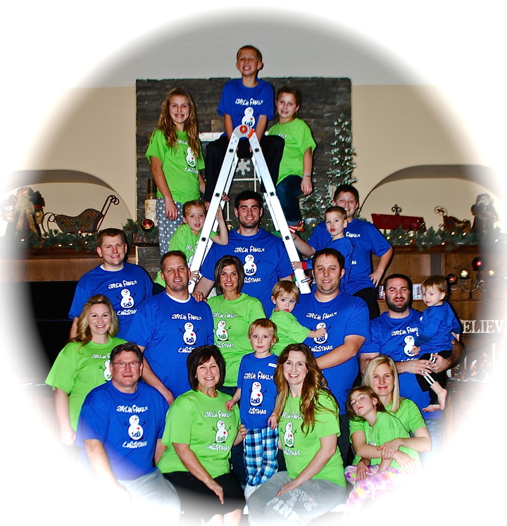 Eppich Family Christmas 2013 T-Shirt Photo