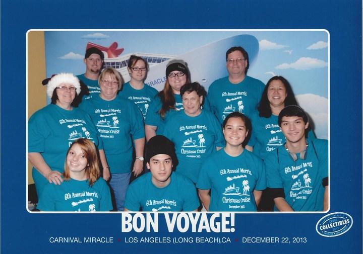 Morris Family Cruise 2013 T-Shirt Photo