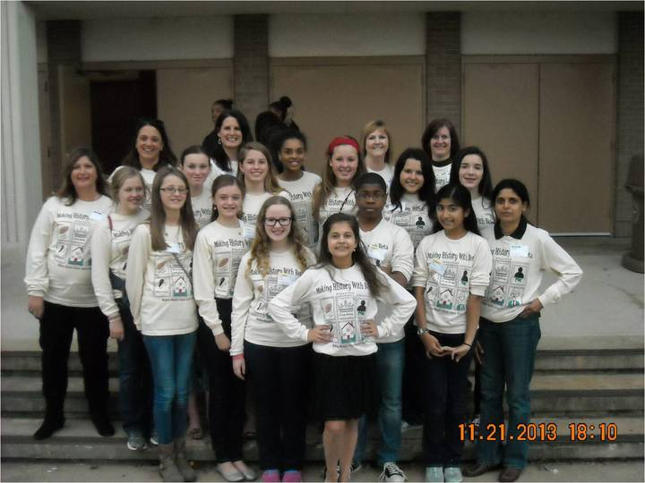 Making History With Beta At Madras Middle School T-Shirt Photo