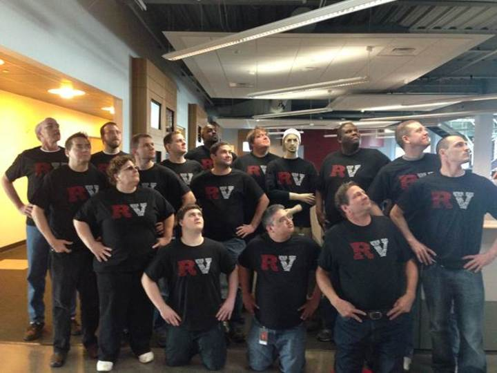 The Rv It Super Team T-Shirt Photo