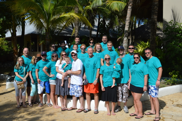 Punta Cana Wedding T-Shirt Photo