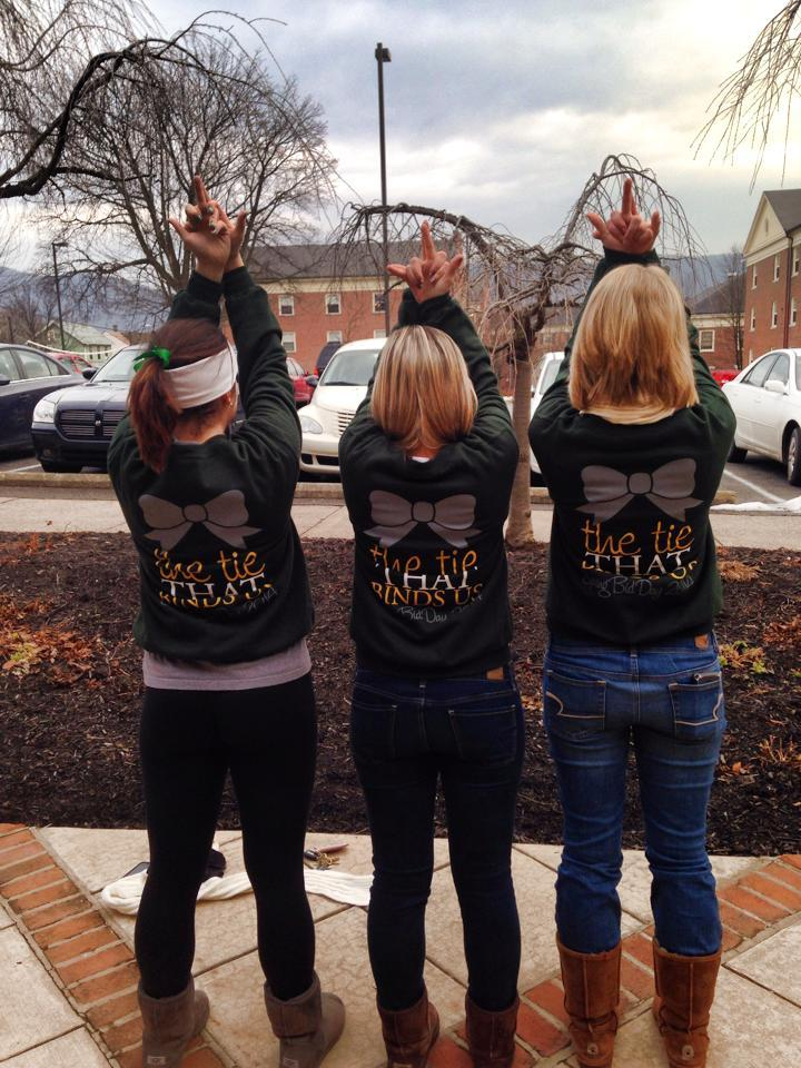 Alpha Sigma Tau Bid Day T-Shirt Photo