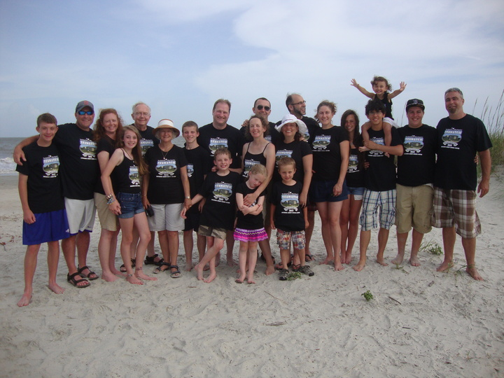 Family Fun At Hilton Head T-Shirt Photo