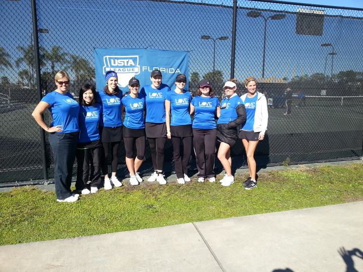We Play Florida Tennis! T-Shirt Photo