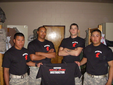 Ninja In The Army T-Shirt Photo