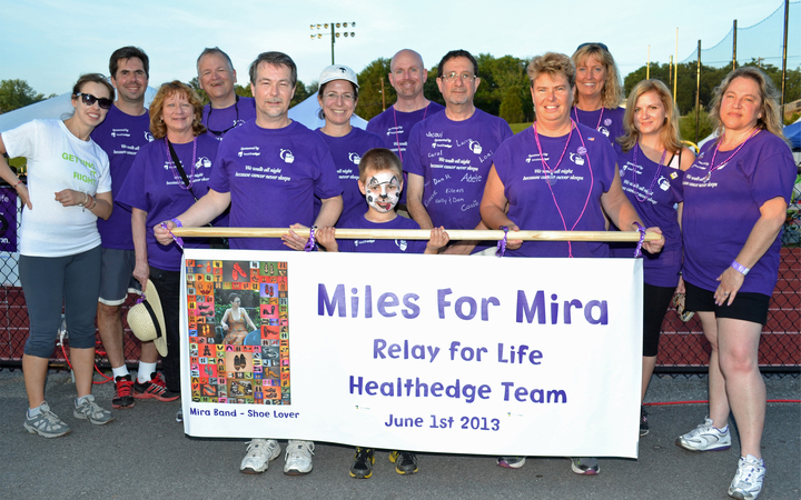 Miles For Mira Relay For Life Team  T-Shirt Photo