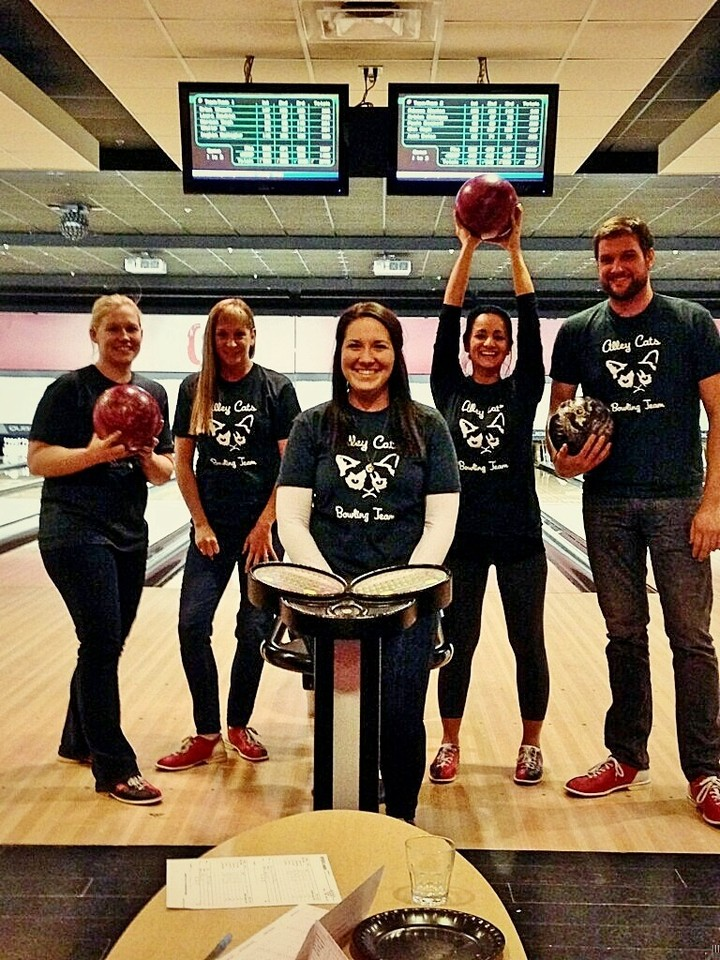 Alley Cats Bowling Team! T-Shirt Photo