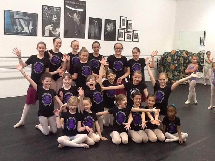 Ballet Center Nutcracker T-Shirt Photo