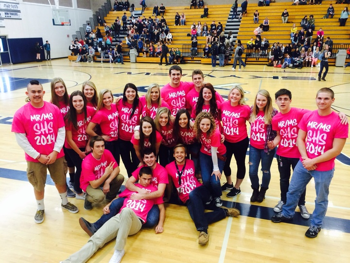 Mr/Ms Skyview Contestants 2014 T-Shirt Photo