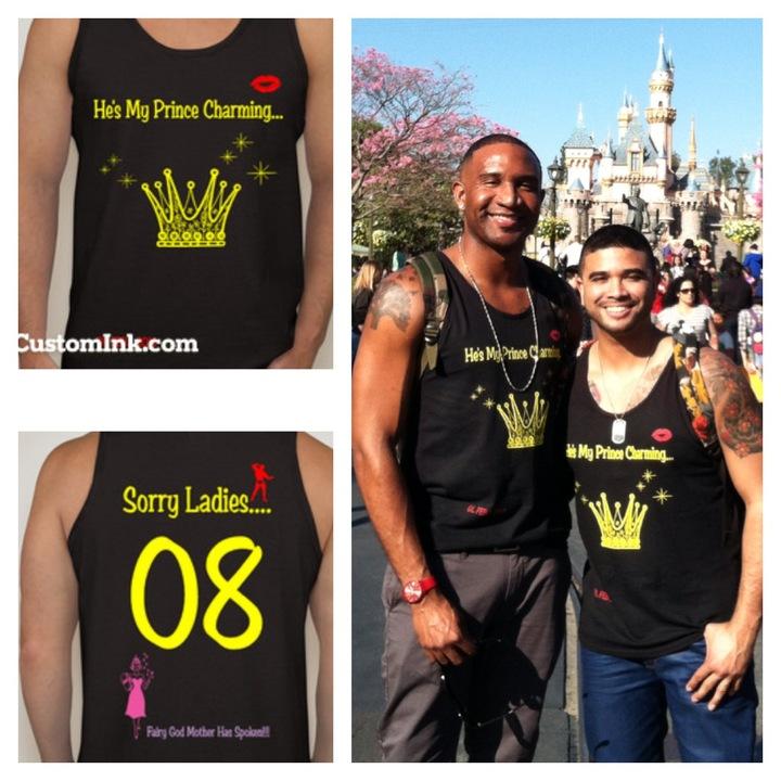 Our First Disneyland Adventure T-Shirt Photo
