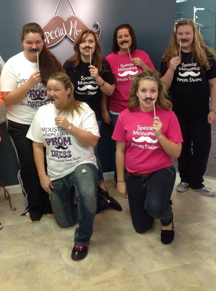 U Moustache Where We Got Our Shirts;) T-Shirt Photo