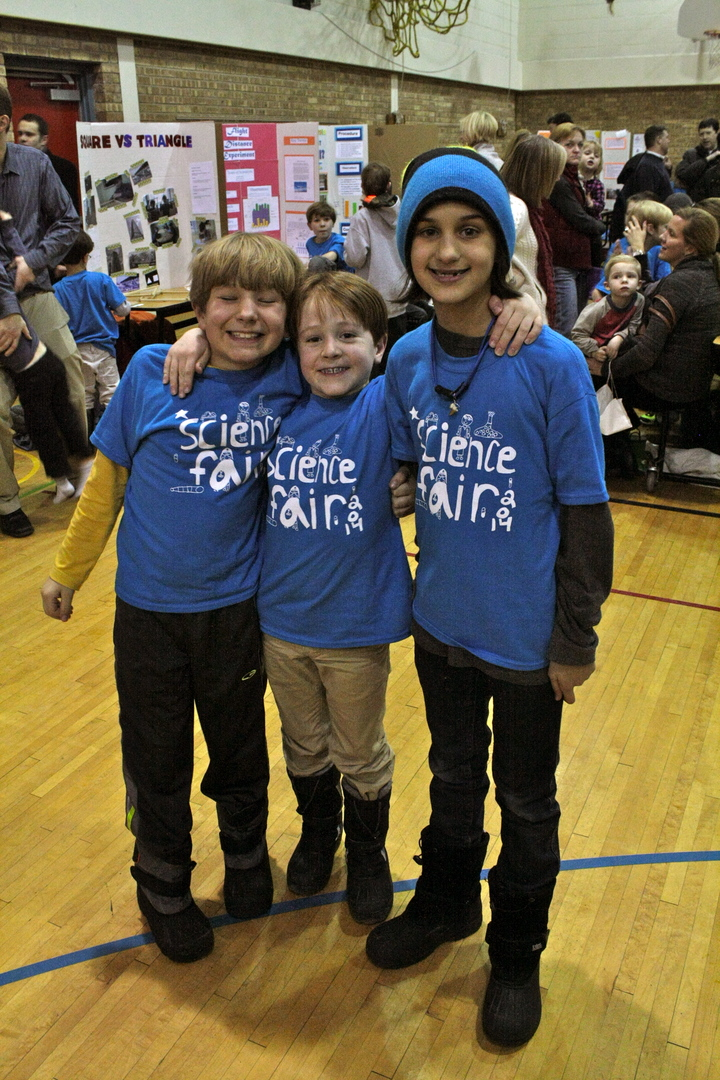 Science Fairs Are Cool! T-Shirt Photo