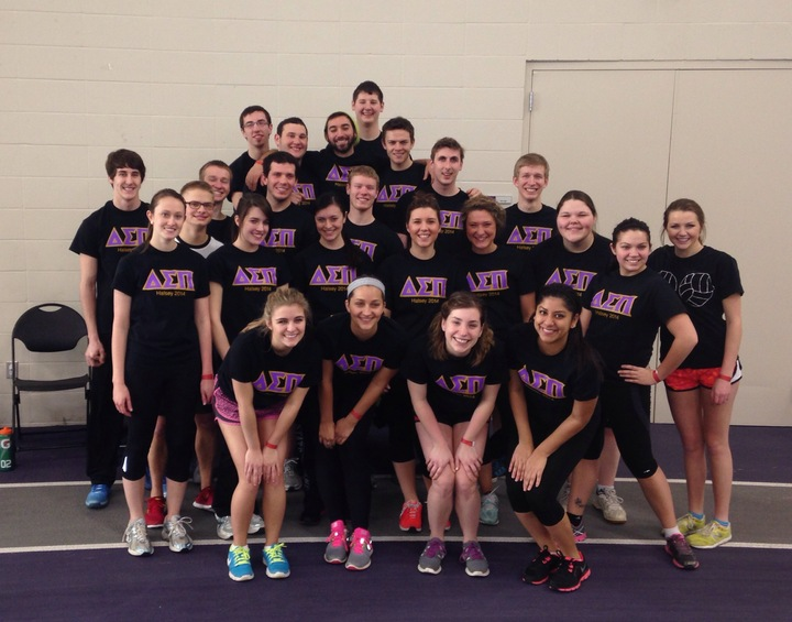Delta Sigma Pi   Kappa Upsilon  (Basketball Champs!!) T-Shirt Photo