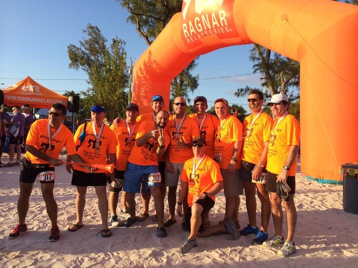 Ragnar Relay Florida Keys Finishers! T-Shirt Photo