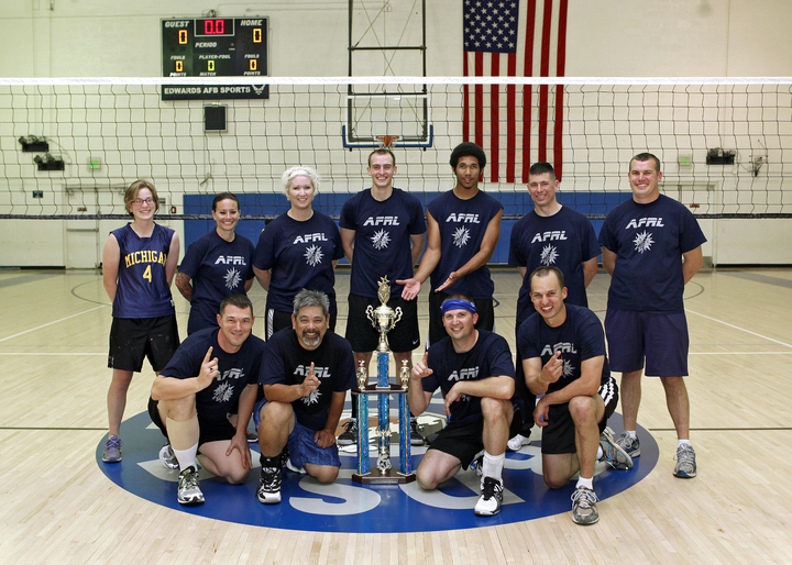 Afrl Intramural Volleyball Champs! T-Shirt Photo