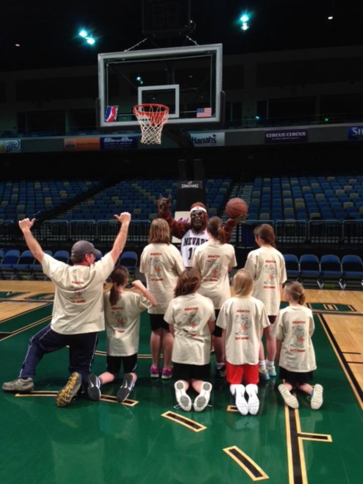 Squatches Basketball Team T-Shirt Photo