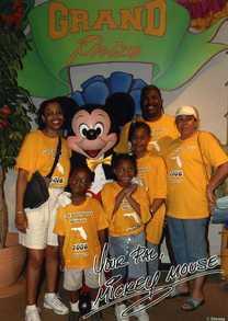 Disney World Family Reunion 2006 T-Shirt Photo