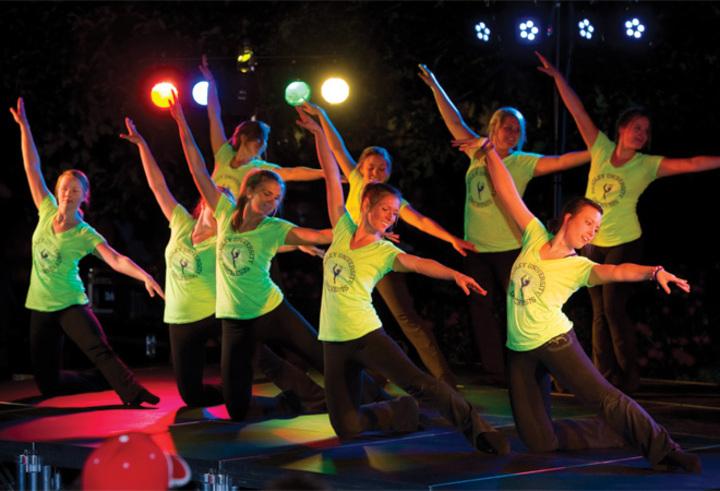 Homecoming Dance Performance T-Shirt Photo