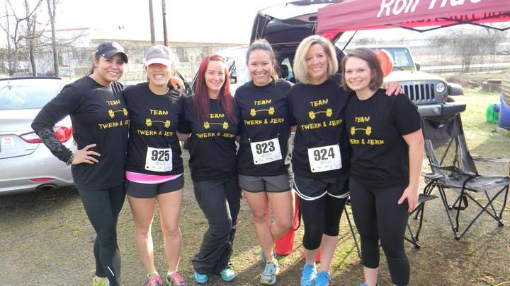 Twerk & Jerk Run Tribe 5 K And Win Chili Cookoff! T-Shirt Photo