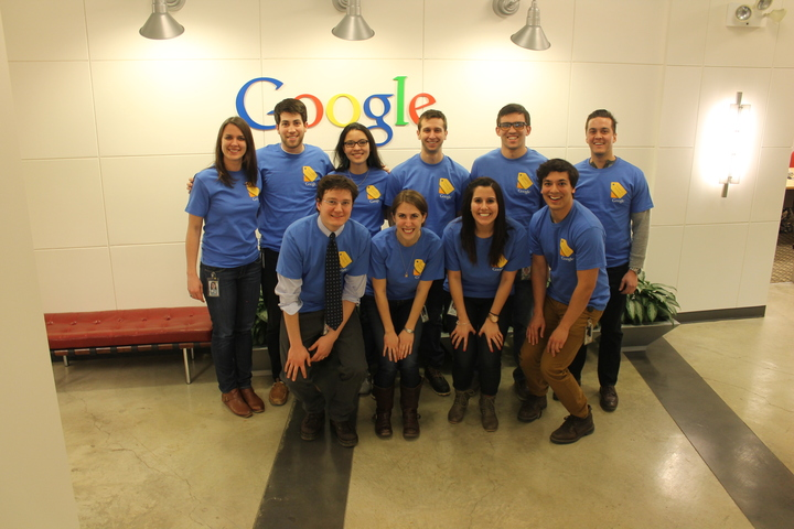 Google Sho Ro Launch T-Shirt Photo