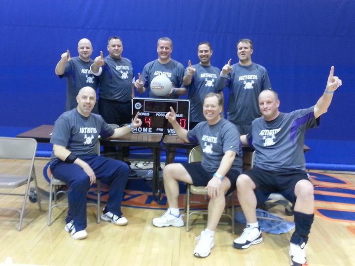 Dodgeball Champs T-Shirt Photo
