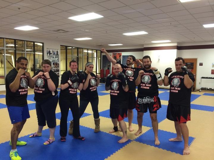 Lionheart Muay Thai Fitness T-Shirt Photo