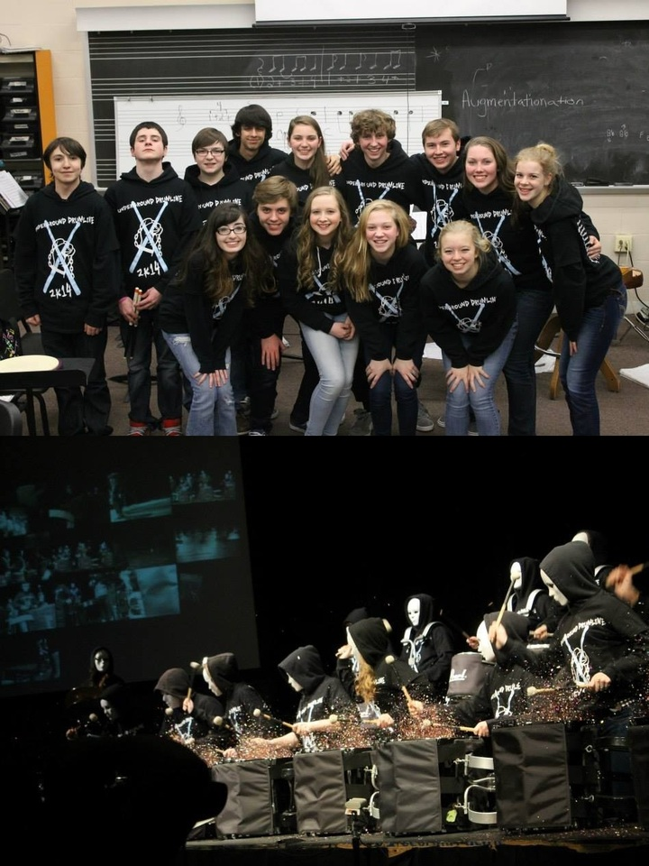 Underground Drumline 2 K14 T-Shirt Photo