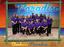 Purple shirts group photo with camp frame