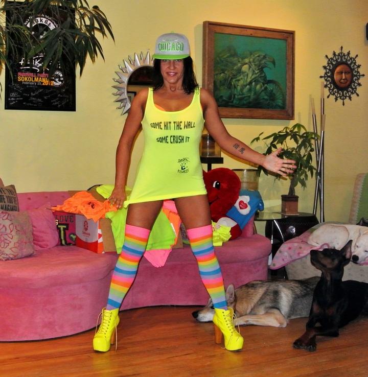 Dzika Fitness T-Shirt Photo