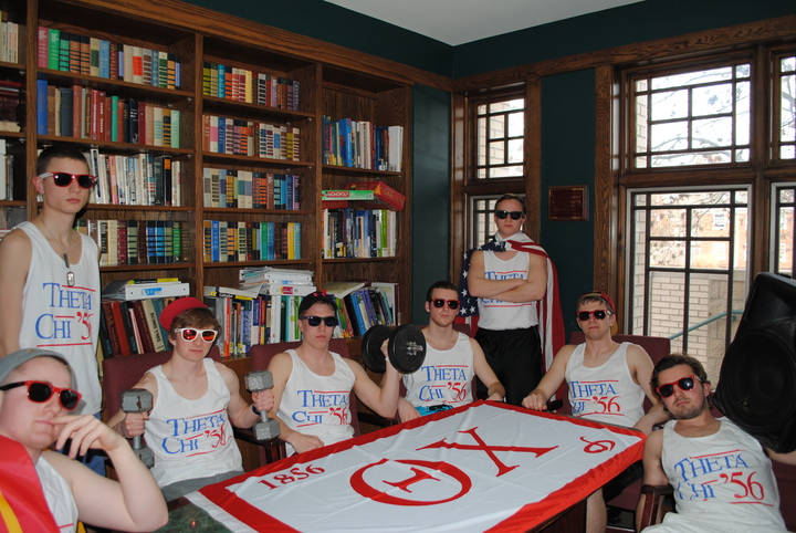 Business As Usual At Theta Chi T-Shirt Photo