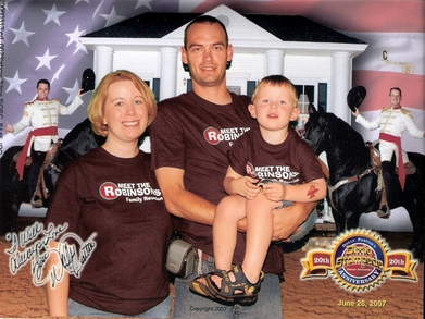 Robinson Family Reunion T-Shirt Photo